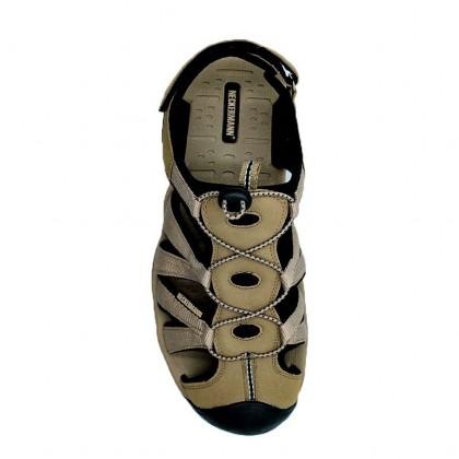 Neckermann Men's Hurracan Hiking Series Sports Sandals - Black/Brown