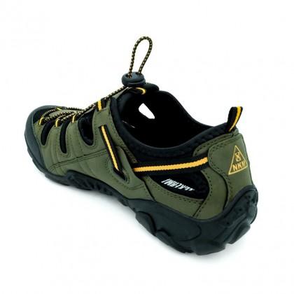 Neckermann Men's Cyclone Hiking Series Sports Sandals - Olive Green/Grey