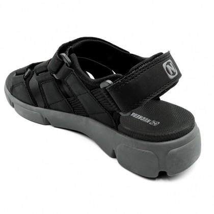 Neckermann Men's Rockport Retro Series Sports Sandals - Brown/Black