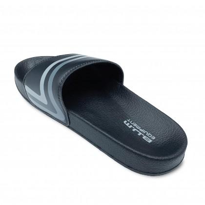 BUM Equipment Men's Duo Race Stripe Slide Sandals - Black/Brown/Blue