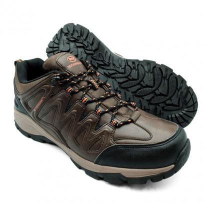Neckermann Men's NHX Endurax Hiking Shoes - Dark Brown/Black