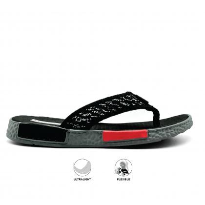 BUM Equipment Men's Ares Toe Post Sandals - Green/Black