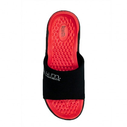 BUM Equipment Men's Comfort Ceres Slide Sandals - Black/Grey