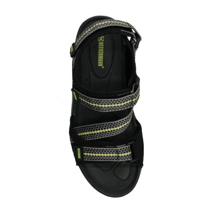 Neckermann Men's Montague Retro Series Sports Sandals - Black/Navy