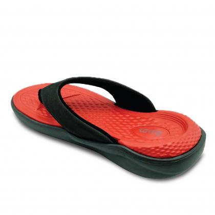 BUM Equipment Men's Rhea Toe Post Sandals - Blue/Grey/Black
