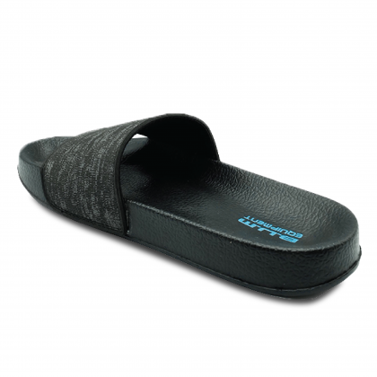 BUM Equipment Men's Charon Sport Slide Sandals - Black/Grey/Navy