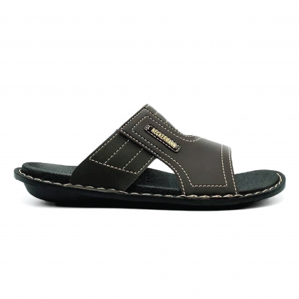 Neckermann Men's Annex Lifestyle Slide Sandals - Black/Brown